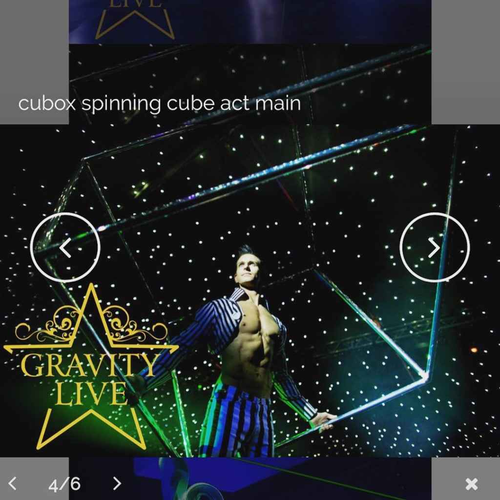 Our amazing cube act is available in 2amazing themes Thehellip